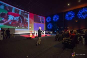 Juan Ramón inaugurando el Congreso de El Futuro de la Publicidad